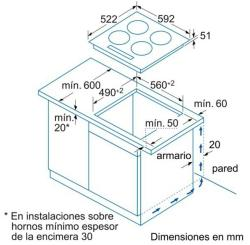 Cocinas vitroceramicas y encimeras balay - Cocinas balay vitroceramica ...